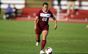 Cassie Smith tyed the program record with 7 goals in a season as just a sophomore.