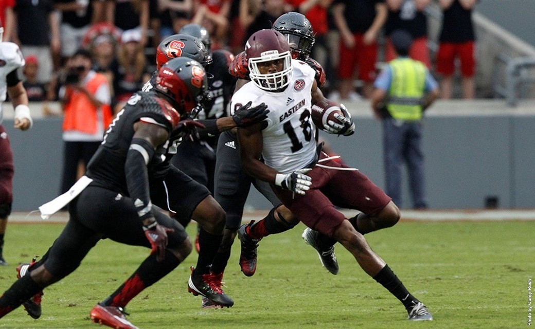 Colonels fall to NC State 35-0