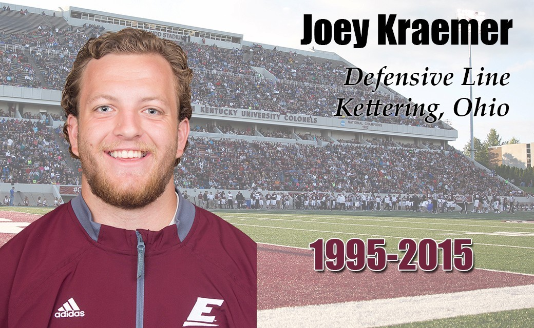 EKU Football Player Killed In Car Accident