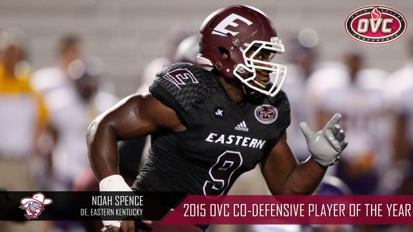 Spence named OVC Co-Defensive Player of the Year
