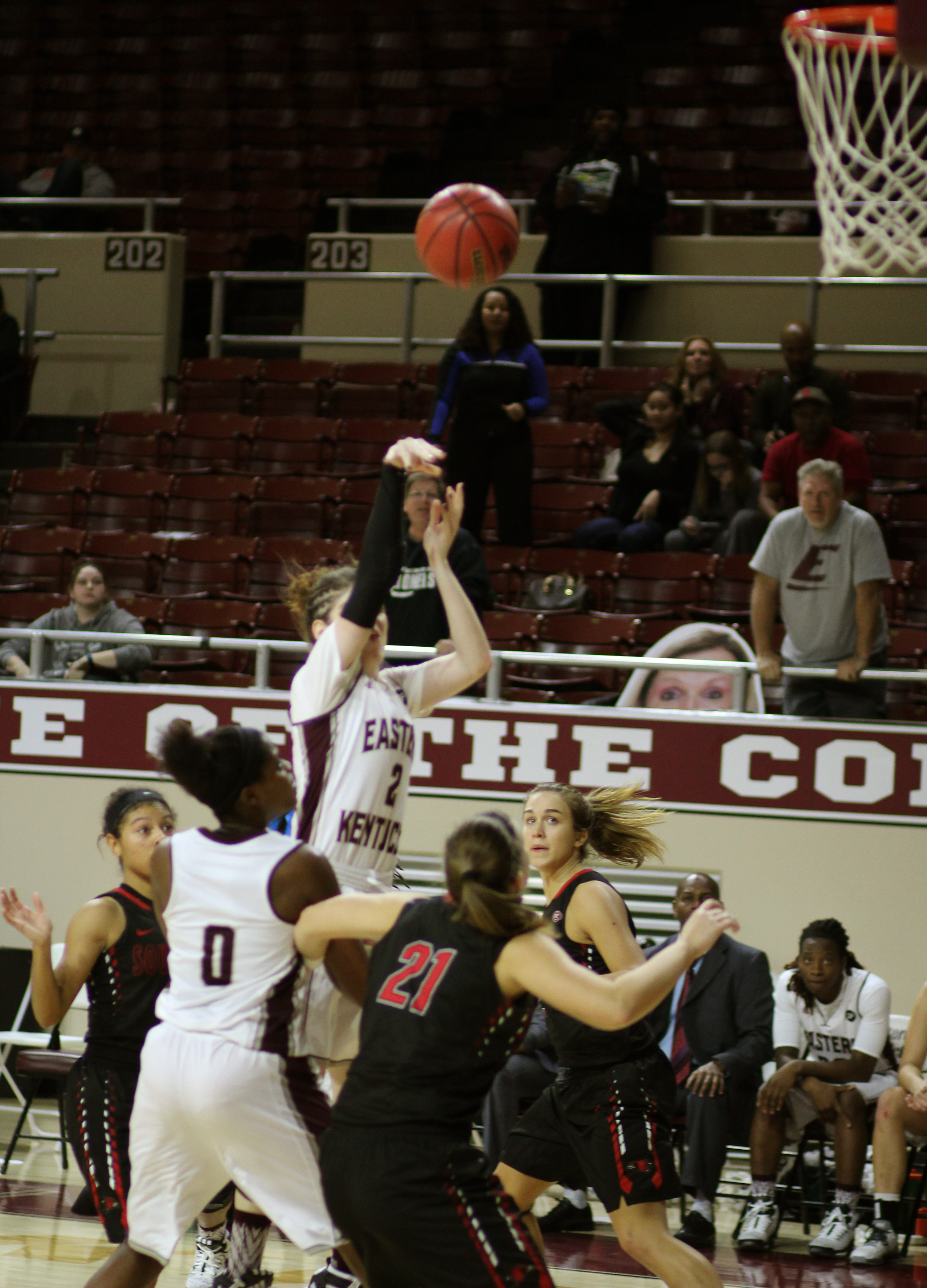 Belmont Ends Lady Colonels OVC Tourney Run.