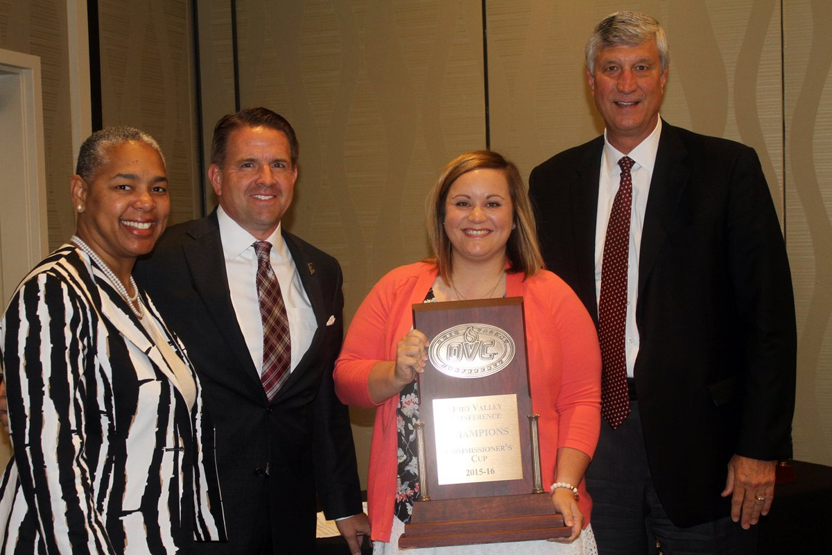 EKU Wins Third-Straight OVC Commissioner's Cup