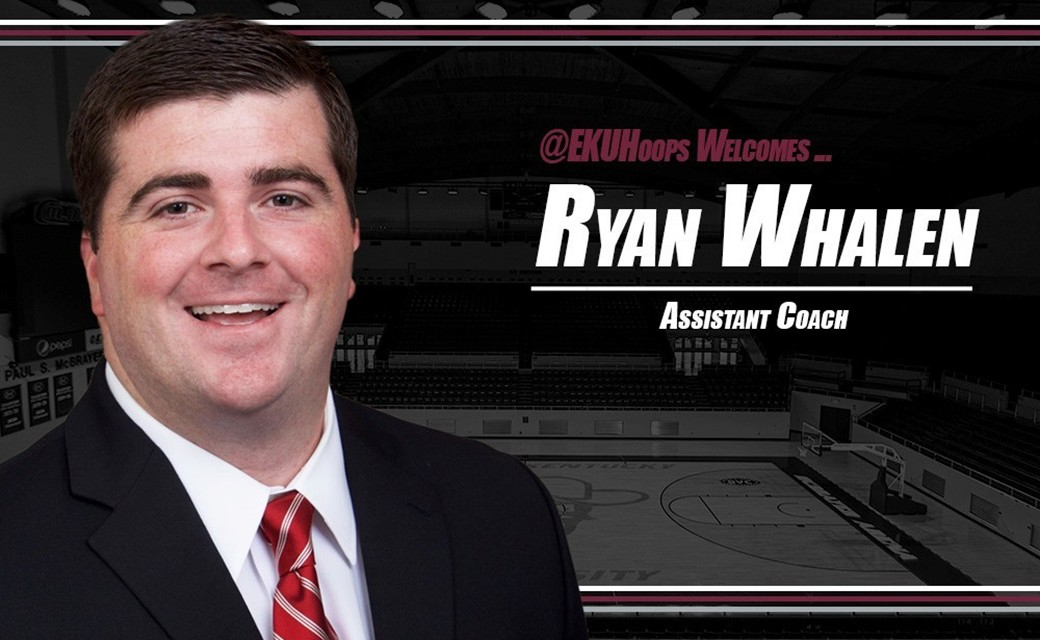 Ryan Whalen Joins Colonel basketball Coaching Staff