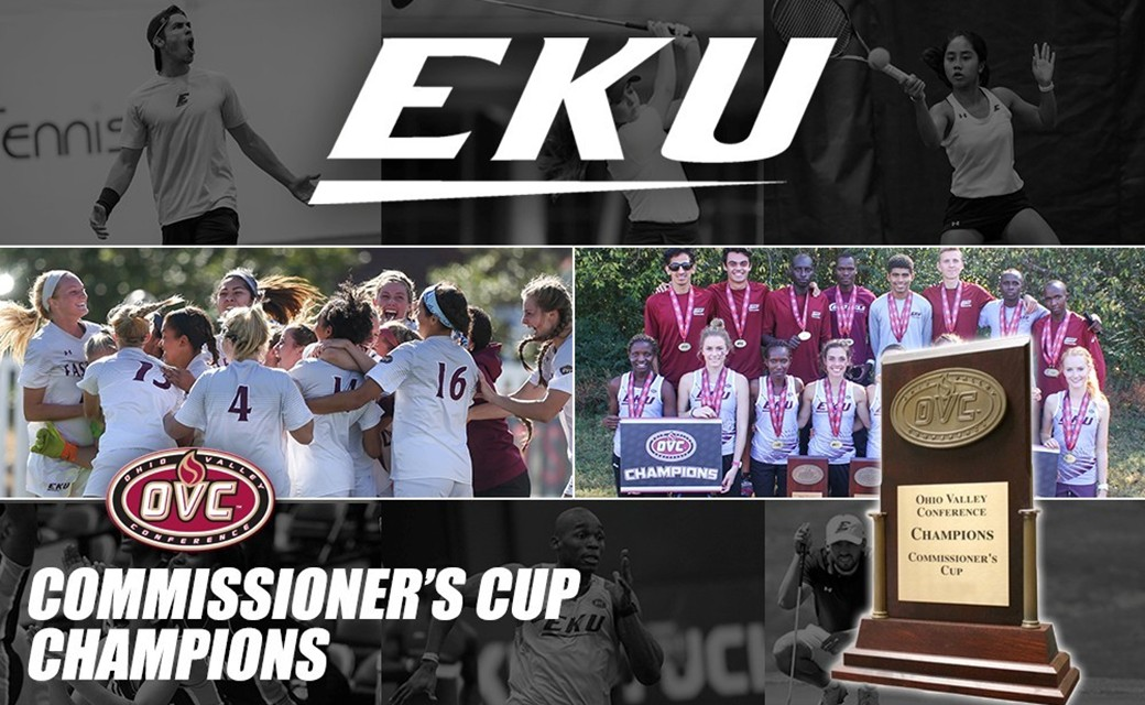 4 In A Row, EKU Wins OVC Commissioner's Cup Again