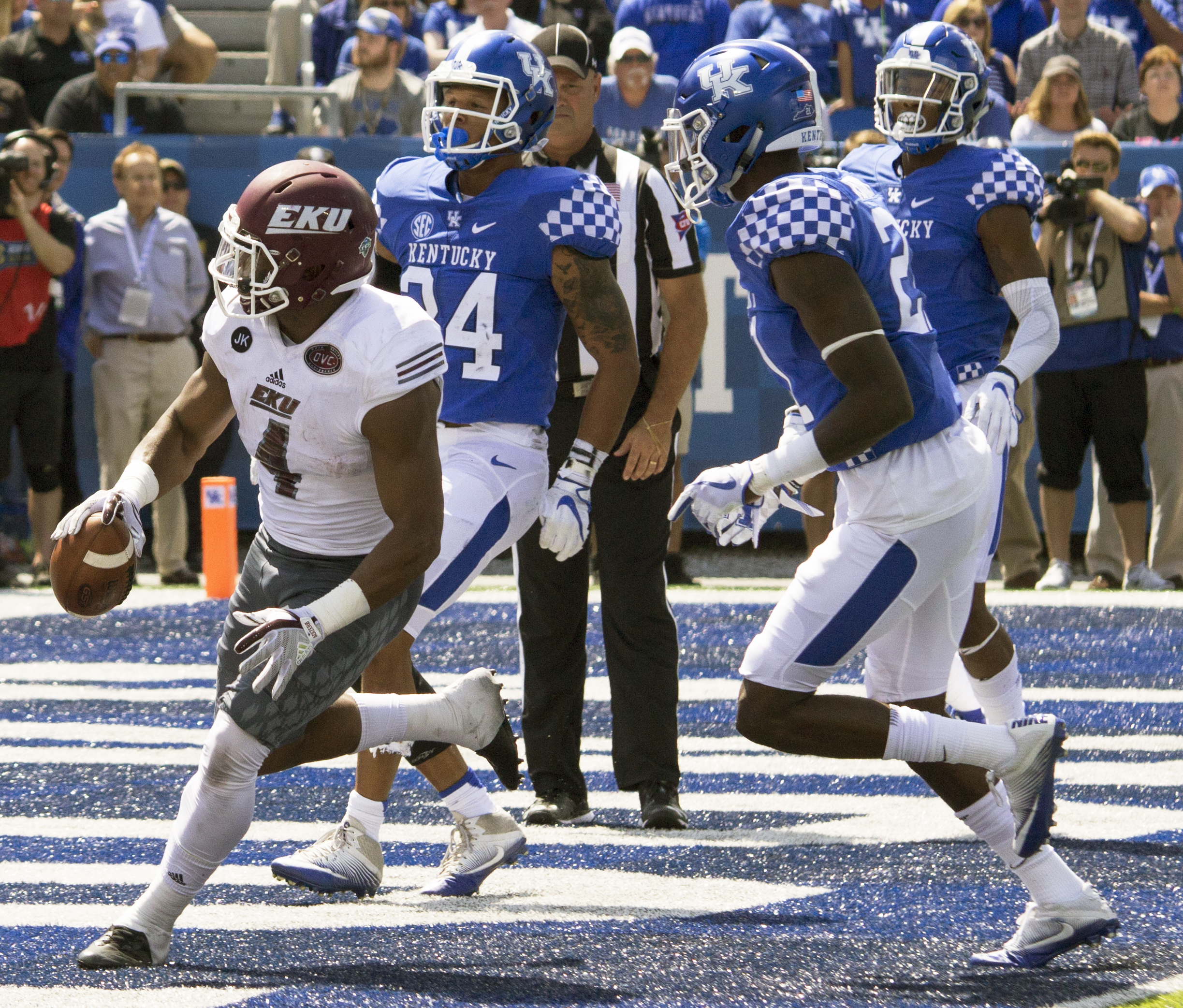 EKU Leads For Nearly Three Quarters, Can't Hold Off UK Comeback