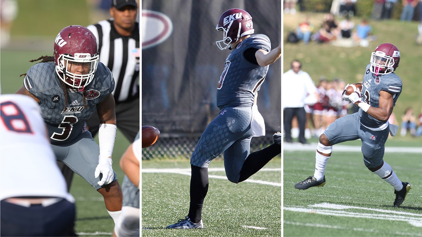 Three Colonels Earn Weekly Awards After Homecoming Victory Over UT Martin