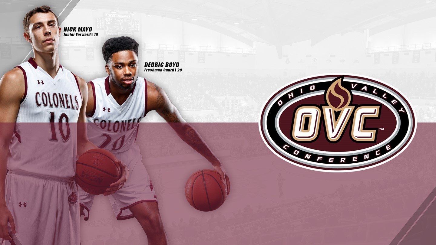 Mayo Voted OVC Player of the Week, Boyd Freshman of the Week