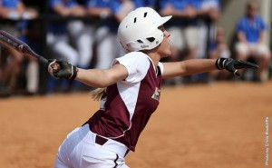 Christina Ciolek went 4-4 with 3 RBIs in game two vs Morehead State
