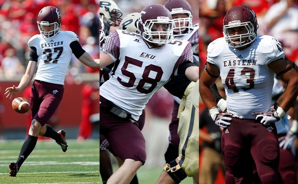 Three Eku Football Players Named To Nff Hampshire Honor Society