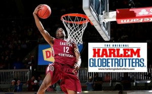 Lewis drafted by the Globetrotters