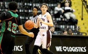 Hunter named OVC Player of the Week