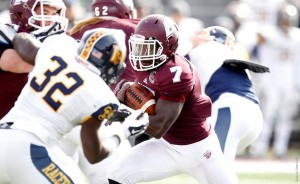 Mobley Carries EKU Football to 43-36 Win Over Murray State