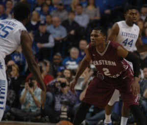 Colonels fall to No. 1 Wildcats 82-49