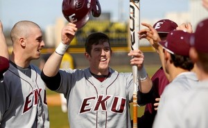 #12 Louisville beats Eastern Kentucky 5-2