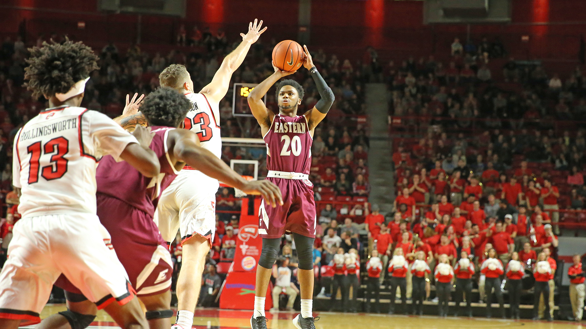Colonels Fall on the Road to Hot-Shooting WKU
