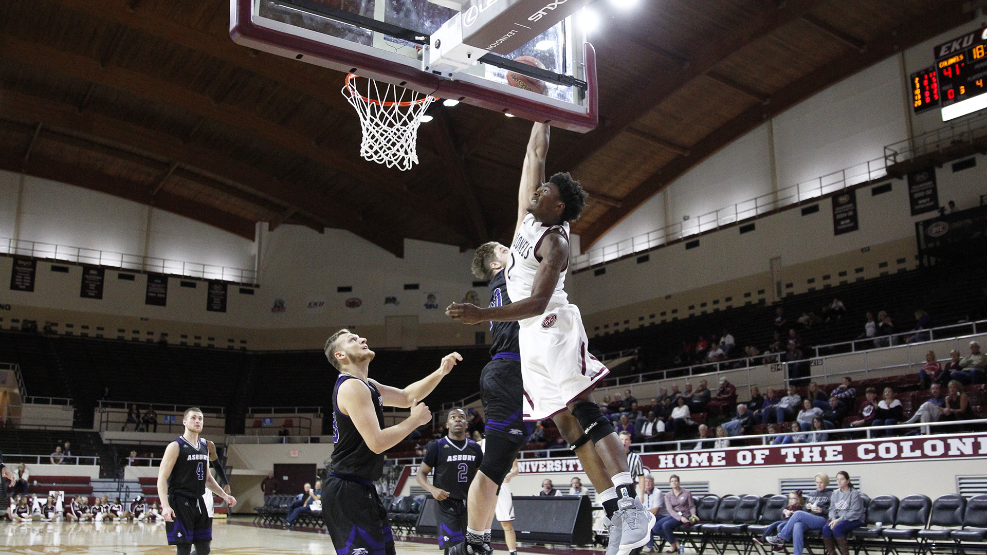 EKU Runs Away From Asbury in the Second Half, 99-71