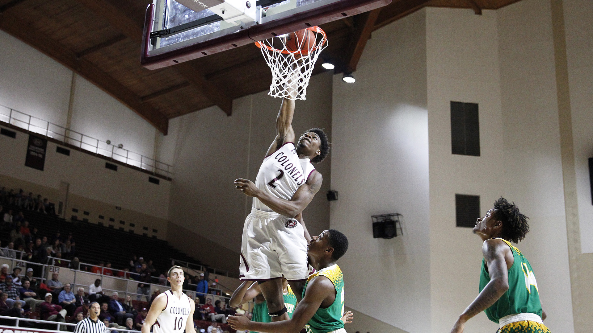 Colonels Start Slow, But Roll Past Kentucky State at Home, 97-66