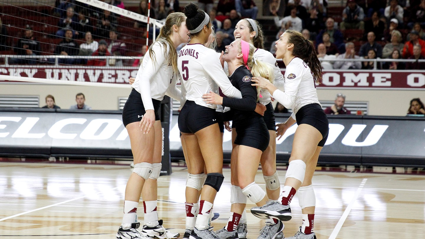 No. 4 EKU To Play No. 5 Belmont In The First Round of OVC Tournament
