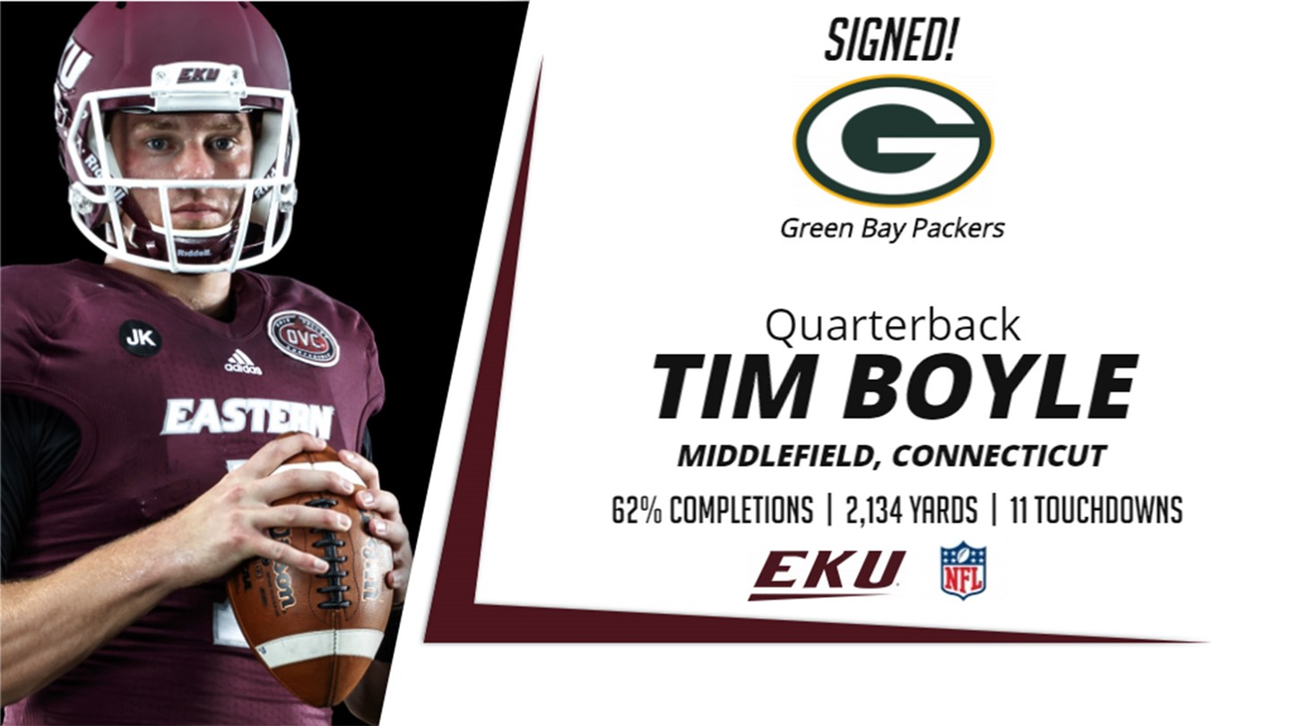 Former Quarterback Tim Boyle Signs Contract With Green Bay Packers