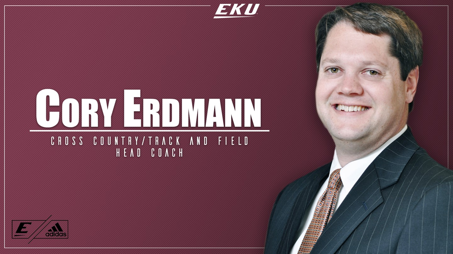 Cory Erdmann Named Head Coach of Cross Country and Track and Field Programs