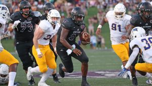 EKU rushes for over 400 yards