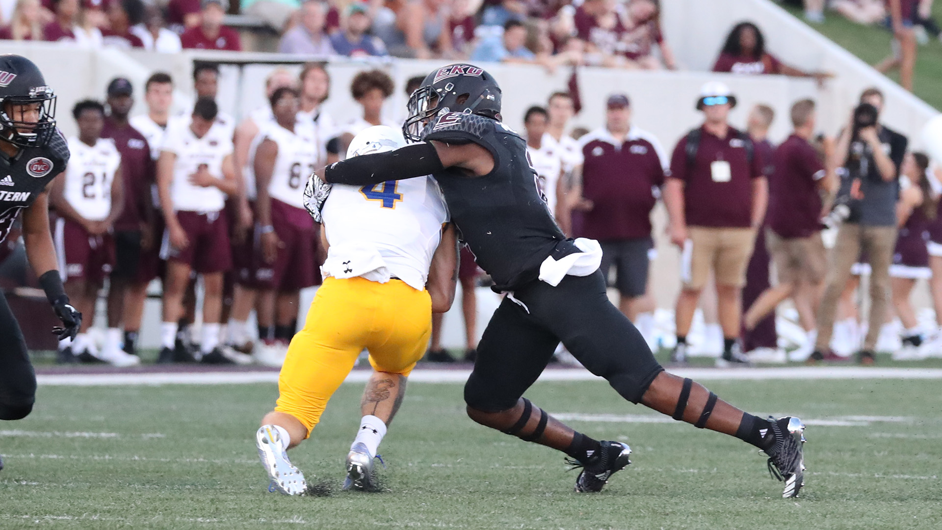 Leodis Moore III Chosen As OVC Defensive Player Of The Week