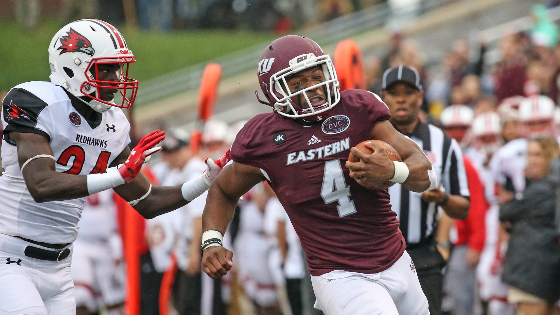 Football Opens OVC Play with 23-14 Win Over Southeast Missouri