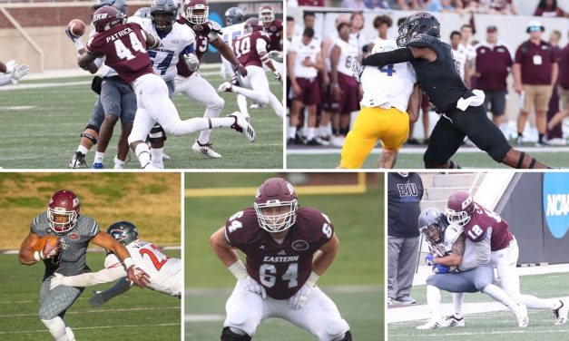 Five Colonels Earn All-OVC Honors
