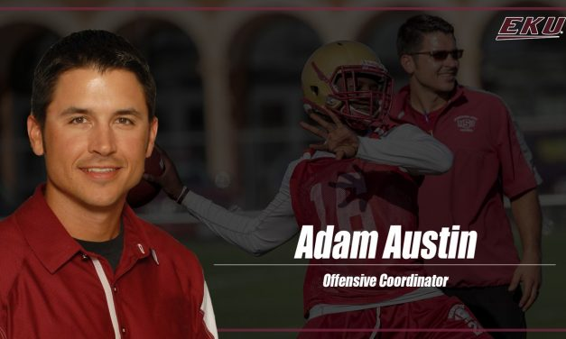 Adam Austin Chosen As New EKU Football Offensive Coordinator