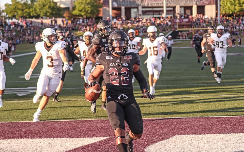 Running Backs, Defense Stake EKU To Early Lead In Rout Of Valparaiso