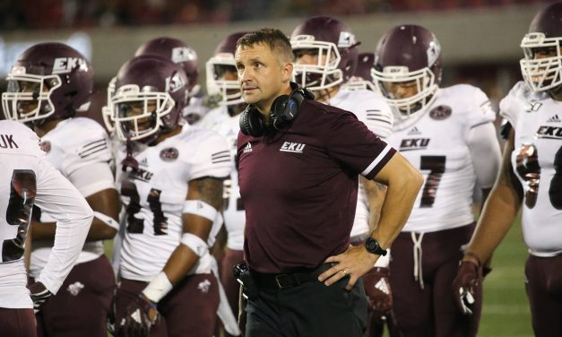 Mark Elder Will Not Return As EKU Head Football Coach