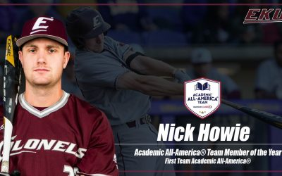 Nick Howie Chosen As Academic All-America Of The Year