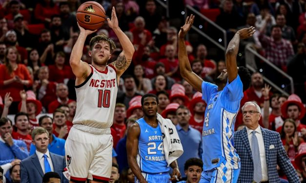 NC State's Braxton Beverly transferring to Eastern Kentucky