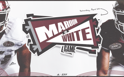 EKU Football Sets Date For Annual Maroon White Game