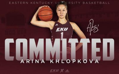 EKU Women's Basketball Adds UTEP Transfer Arina Khlopkova