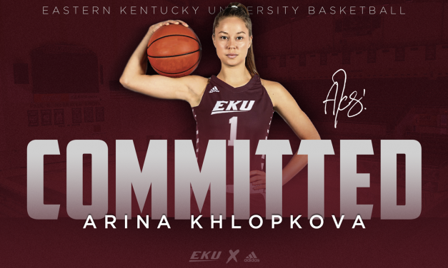 EKU Women's Basketball Adds UTEP Transfer Arina Khlopkova