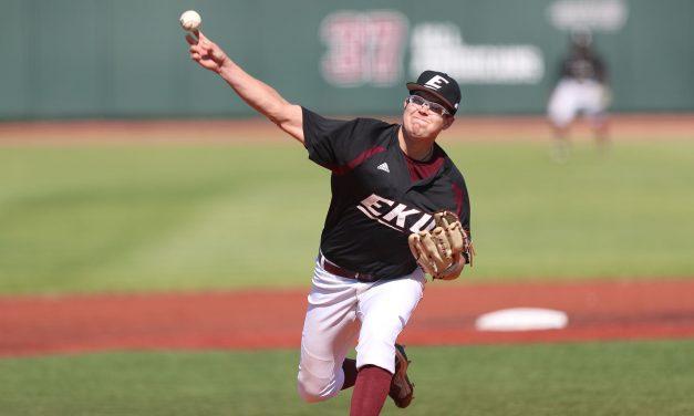 EKU Splits Baseball Doubleheader Against Austin Peay