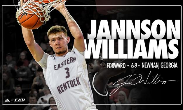 Men's Basketball Adds Marshall Transfer Jannson Williams for 2021-22