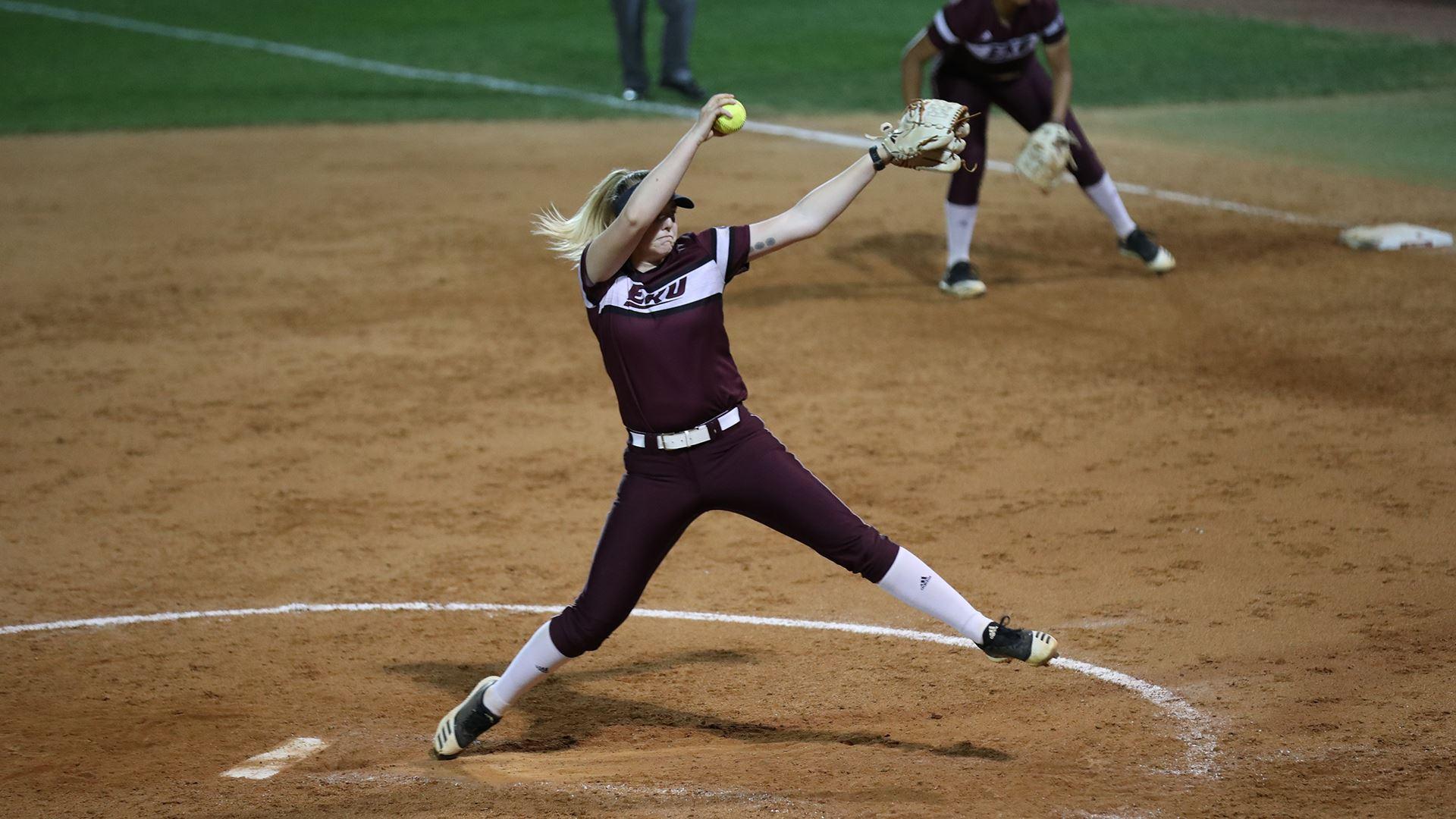softball knocks off Western